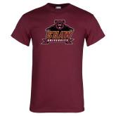 Maroon T Shirt-Shaw University Primary