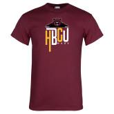 Maroon T Shirt-HBCU