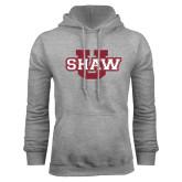 Grey Fleece Hoodie-Shaw U