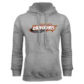 Grey Fleece Hoodie-Lady Bears