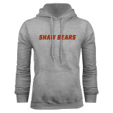 Grey Fleece Hoodie-Shaw Bears