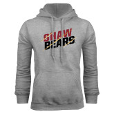 Grey Fleece Hoodie-Shaw Bears Lined Design