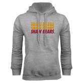 Grey Fleece Hoodie-Shaw Bears Repeating