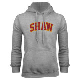 Grey Fleece Hoodie-Arched Shaw