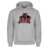 Grey Fleece Hoodie-Shaw University Primary
