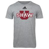 Adidas Sport Grey Logo T Shirt-Shaw U