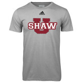 Adidas Climalite Sport Grey Ultimate Performance Tee-Shaw U