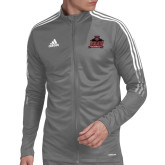 Adidas Grey Tiro 19 Training Jacket-Shaw University Primary