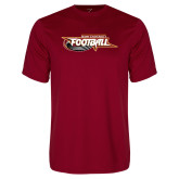 Syntrel Performance Cardinal Tee-Football