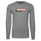 Grey Long Sleeve T Shirt-Lady Bears