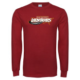Cardinal Long Sleeve T Shirt-Lady Bears