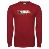 Cardinal Long Sleeve T Shirt-Football