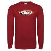 Cardinal Long Sleeve T Shirt-Tennis
