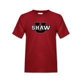 Youth Cardinal T Shirt-Shaw U