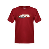 Youth Cardinal T Shirt-Lady Bears