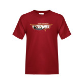 Youth Cardinal T Shirt-Tennis