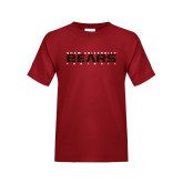 Youth Cardinal T Shirt-Bears Football