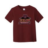 Toddler Maroon T Shirt-Shaw University Primary