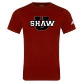 Adidas Cardinal Logo T Shirt-Shaw U