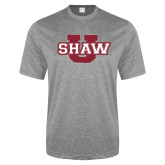 Performance Grey Heather Contender Tee-Shaw U