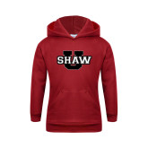 Youth Cardinal Fleece Hoodie-Shaw U