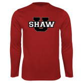 Syntrel Performance Cardinal Longsleeve Shirt-Shaw U