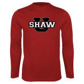 Performance Cardinal Longsleeve Shirt-Shaw U