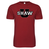 Next Level SoftStyle Cardinal T Shirt-Shaw U
