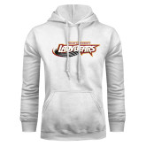 White Fleece Hoodie-Lady Bears