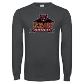 Charcoal Long Sleeve T Shirt-Shaw University Primary