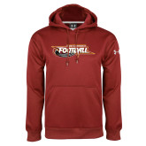 Under Armour Cardinal Performance Sweats Team Hoodie-Football