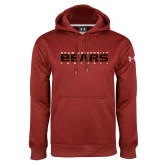Under Armour Cardinal Performance Sweats Team Hoodie-Bears Football