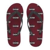 Full Color Flip Flops-Shaw U