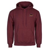 Maroon Fleece Hoodie-Shaw University Primary