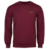 Maroon Fleece Crew-Shaw University Primary
