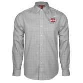 Red House Grey Plaid Long Sleeve Shirt-Shaw U