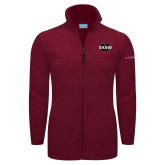 Columbia Full Zip Cardinal Fleece Jacket-Shaw U