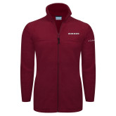Columbia Full Zip Cardinal Fleece Jacket-Shaw Bears