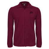 Fleece Full Zip Maroon Jacket-Shaw University Primary