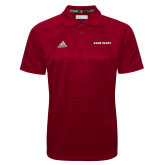 Adidas Climalite Cardinal Jacquard Select Polo-Shaw Bears