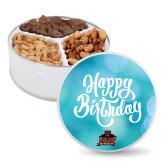 Deluxe Mix Happy Birthday Tin-Shaw University Primary