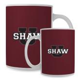 Full Color White Mug 15oz-Shaw U