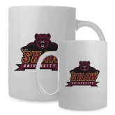 Full Color White Mug 15oz-Shaw University Primary