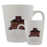 Full Color Latte Mug 12oz-Shaw University Primary
