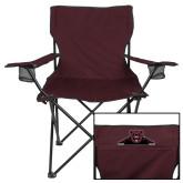 Deluxe Maroon Captains Chair-Bear Logo