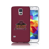 Galaxy S5 Phone Case-Shaw University Primary