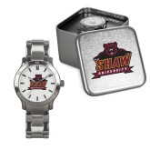 Mens Stainless Steel Fashion Watch-Shaw University Primary