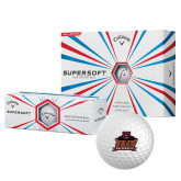 Callaway Supersoft Golf Balls 12/pkg-Shaw University Primary