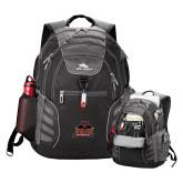 High Sierra Big Wig Black Compu Backpack-Shaw University Primary