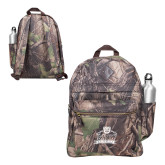 Heritage Supply Camo Computer Backpack-Shaw University Primary